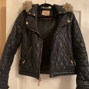 Quilted Juicy Couture Puffer Jacket